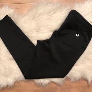 Michael Kors Skinny Charcoal Legging Dress Pants
